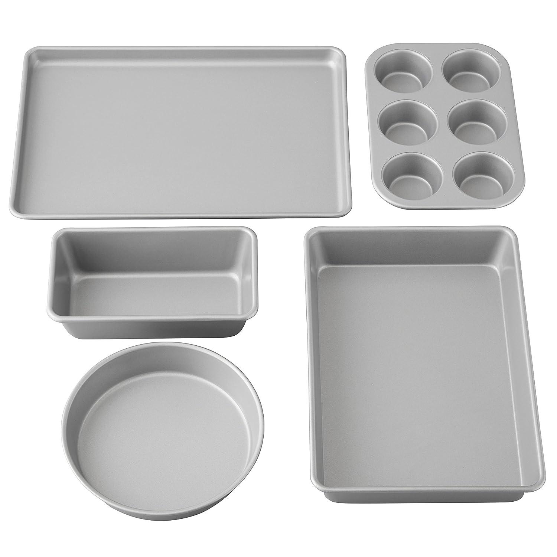 Wilton Best Value Non-Stick Baking Set, 5-Piece 2105-2560