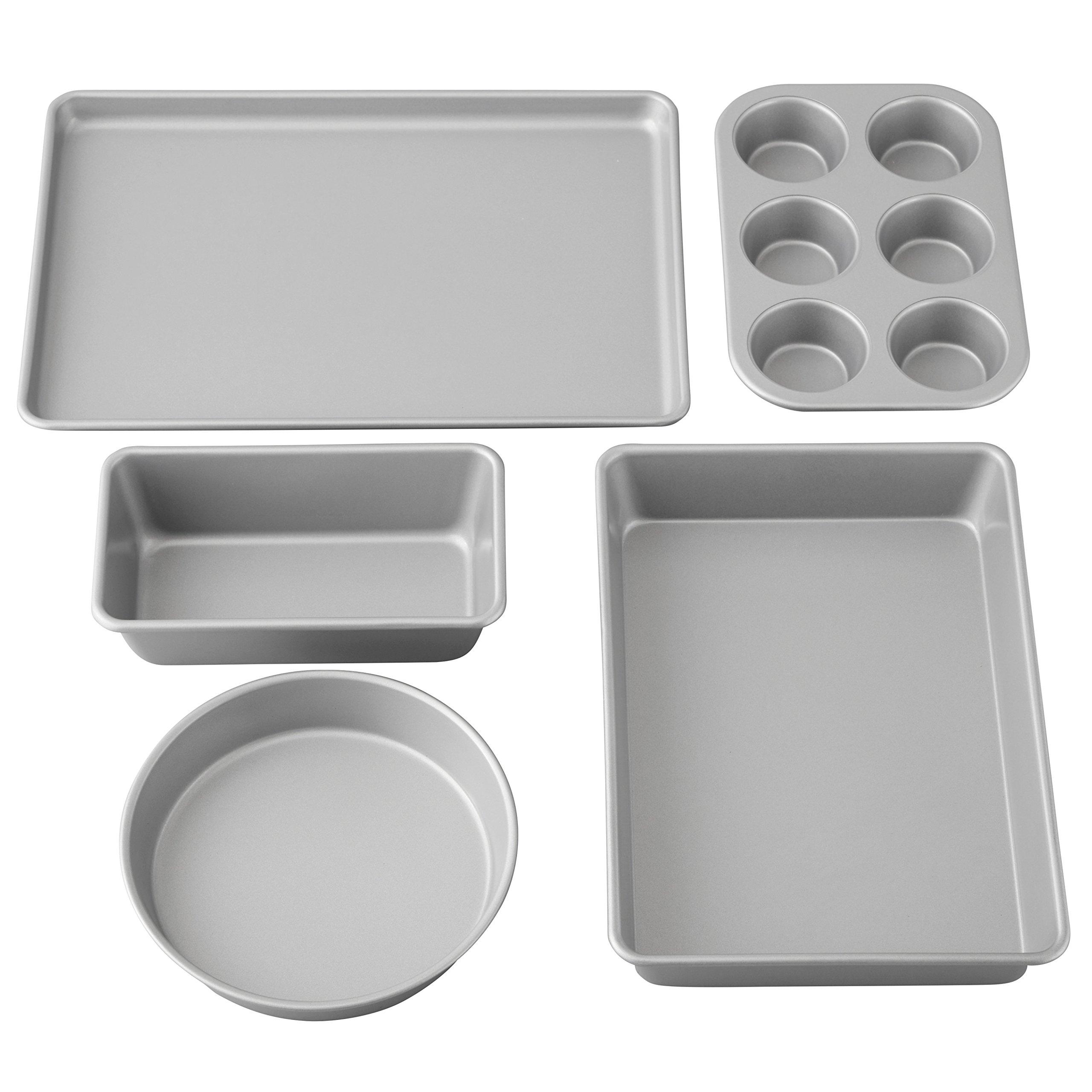Wilton Best Value Non-Stick Baking Set, 5-Piece