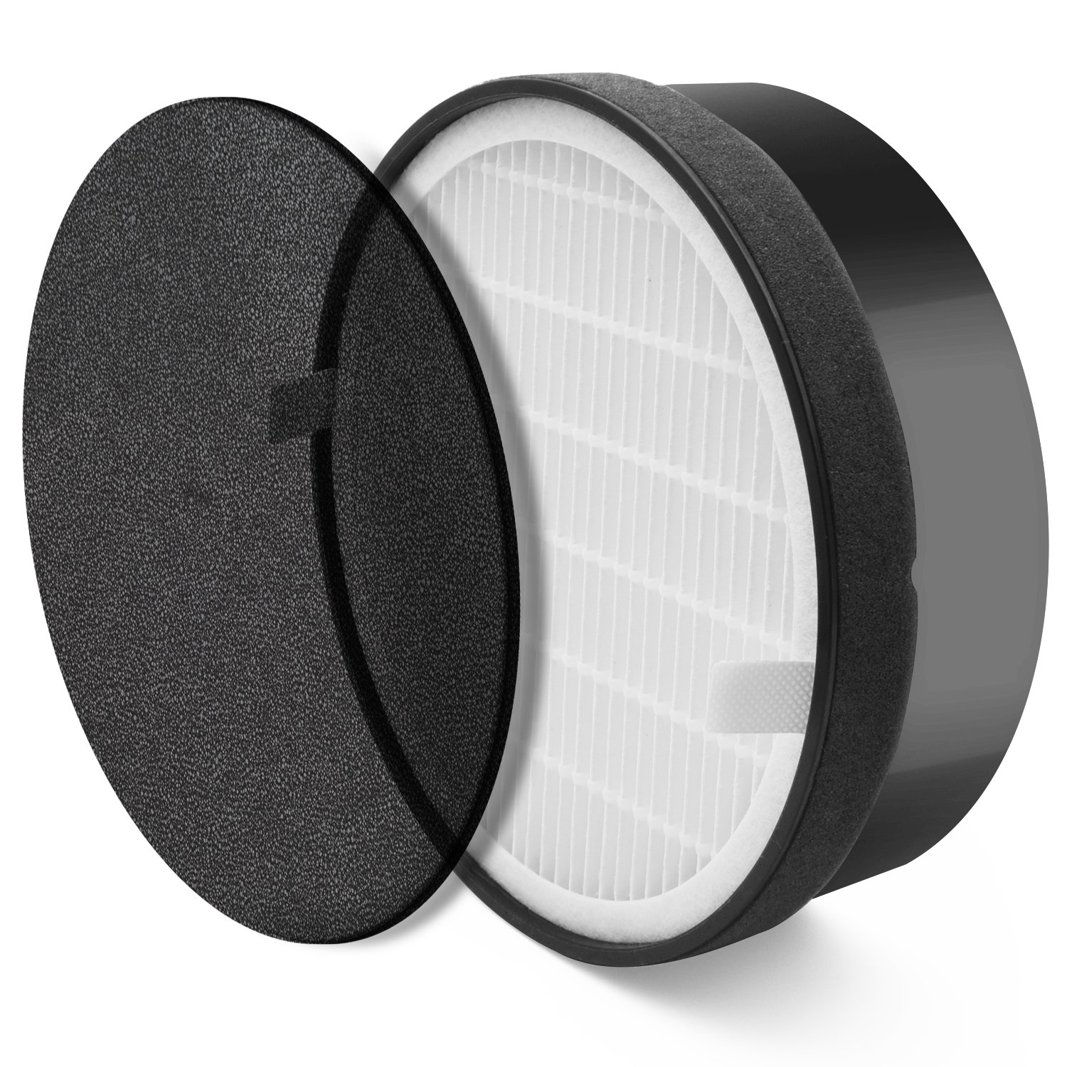 LEVOIT Air Purifier LV-H132 Replacement Filter, True HEPA and Activated Carbon Filters Set, LV-H132-RF by LEVOIT