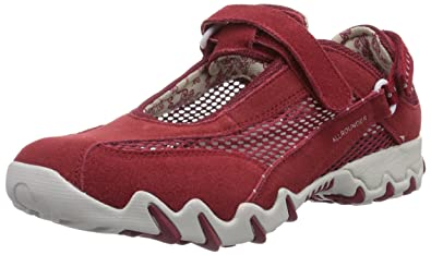 48 RedredChaussures Allrounder C Mephisto Niro suede Mesh By Open HE29WYDI
