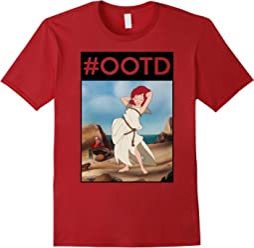 Disney Little Mermaid #OOTD Poster Graphic T-Shirt