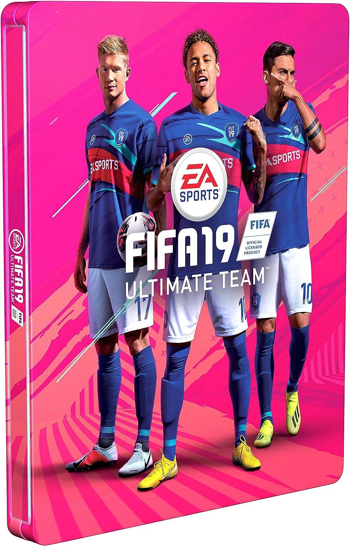 Steelbook FIFA 19 Edición Champions - No incluye juego: Amazon.es ...