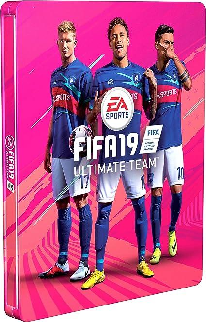 Steelbook FIFA 19 - No incluye juego: Amazon.es: Videojuegos
