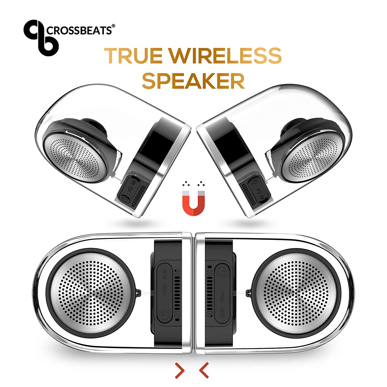 Crossbeats Dynamite 2019 True Wireless Portable Bluetooth