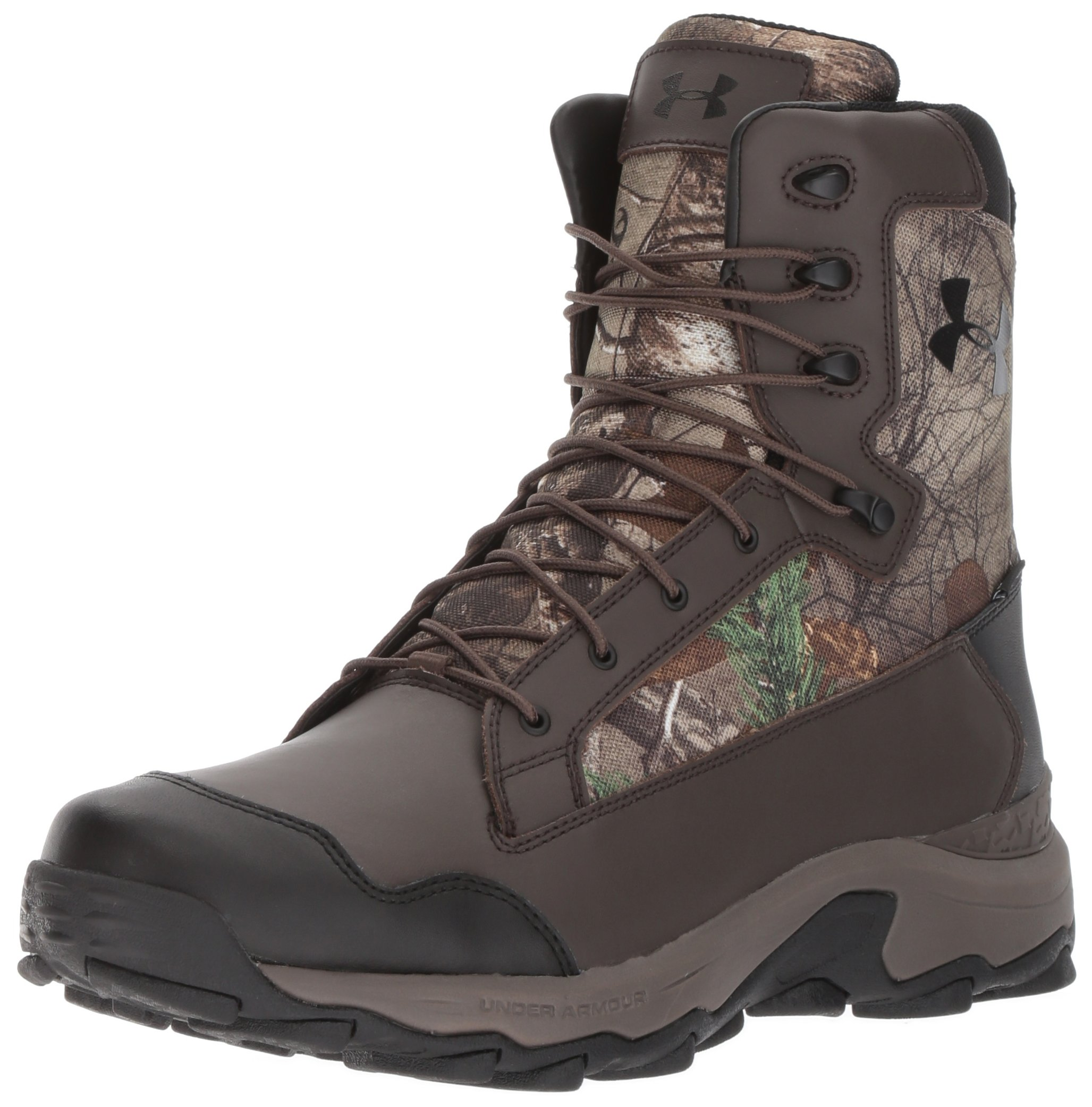 Under Armour Men's Tanger Waterproof Ankle Boot, Realtree Ap-Xtra (946)/Maverick Brown, 9