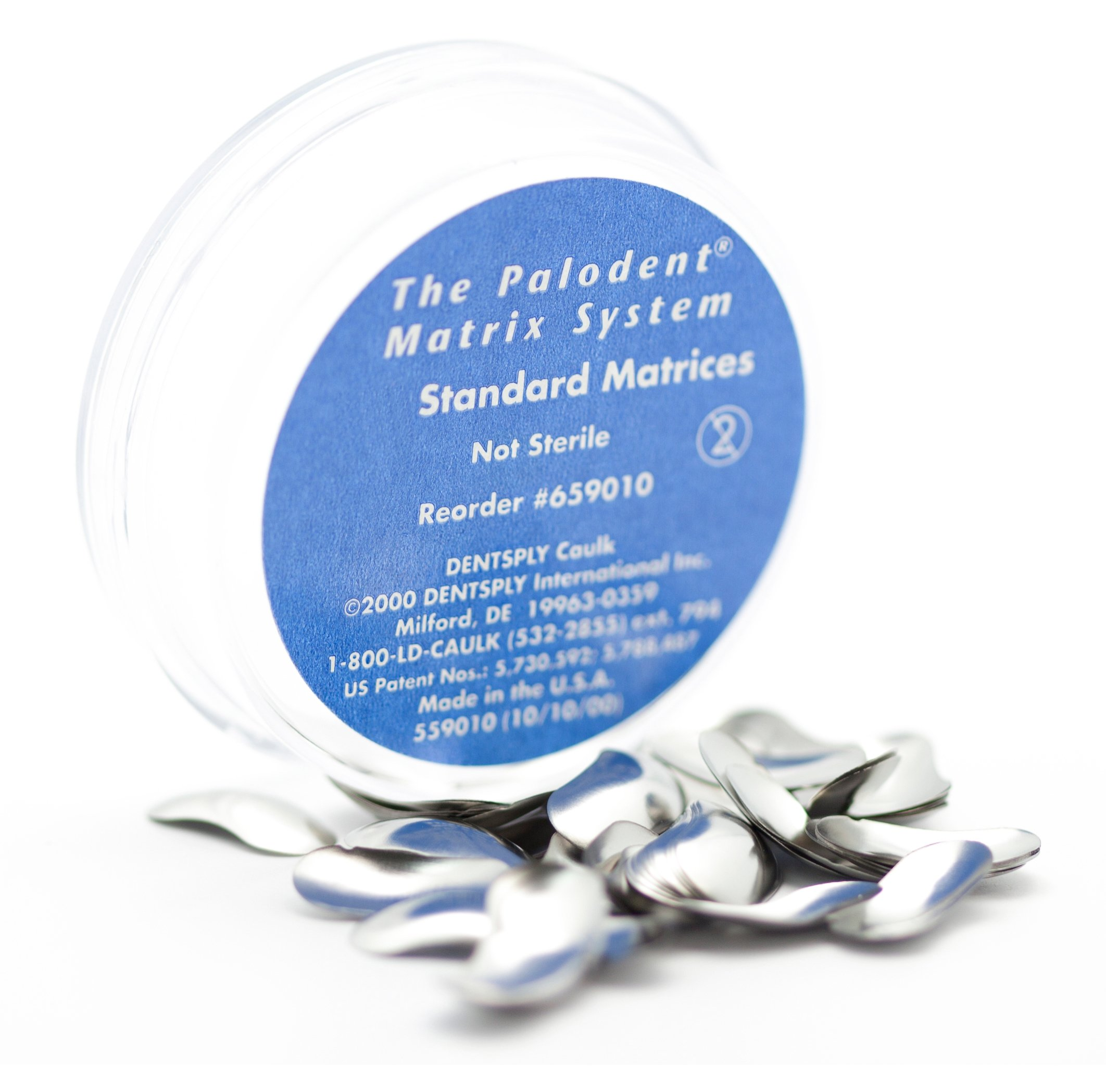 Dentsply 659015 Palodent Sectional Matrix System, Standard Matrices Refill (Pack of 50)