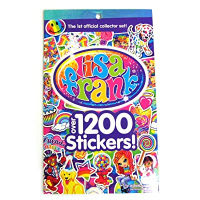 LISA FRANK Sticker Book ~ Over 1200 Stickers - 1st Official Collector's Set!: Toys & Games