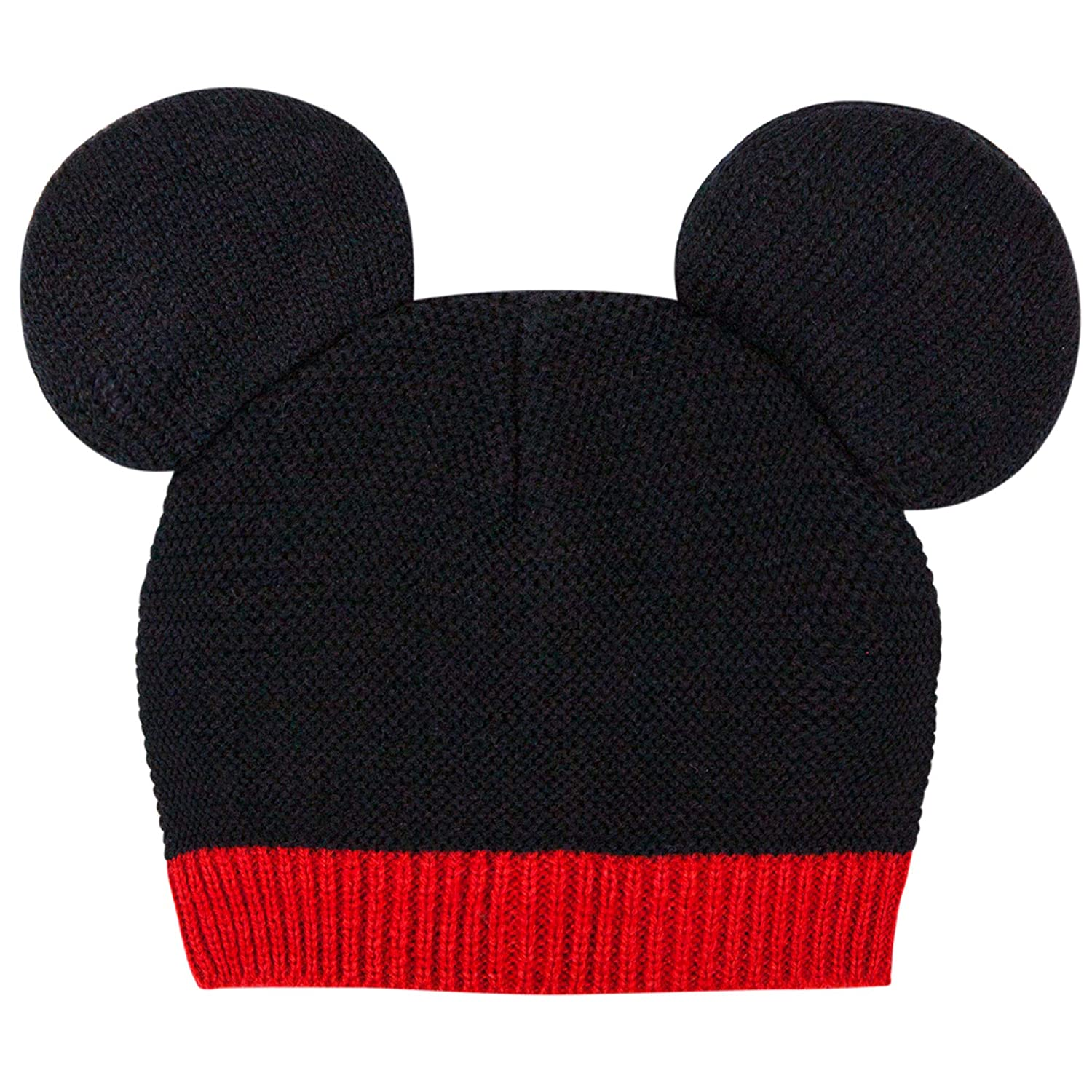 1e7e0532cfaeac Amazon.com: Disney Baby Mickey Mouse Ears Knit Beanie Hat 0-12 Moths Black  Red: Baby