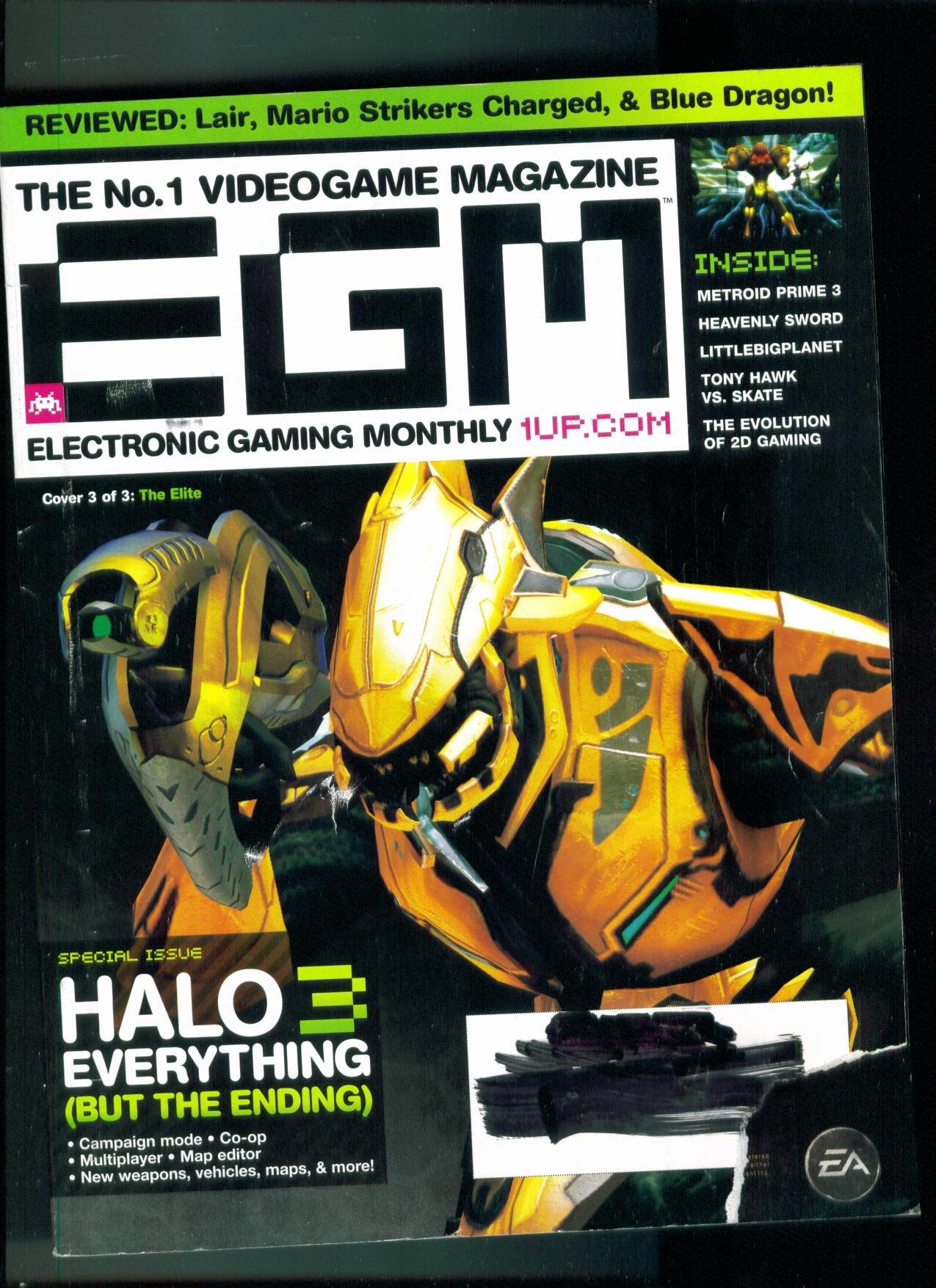 Egm Electronic Gaming Monthly Issue 219 September 2007. Single Issue Magazine. pdf epub
