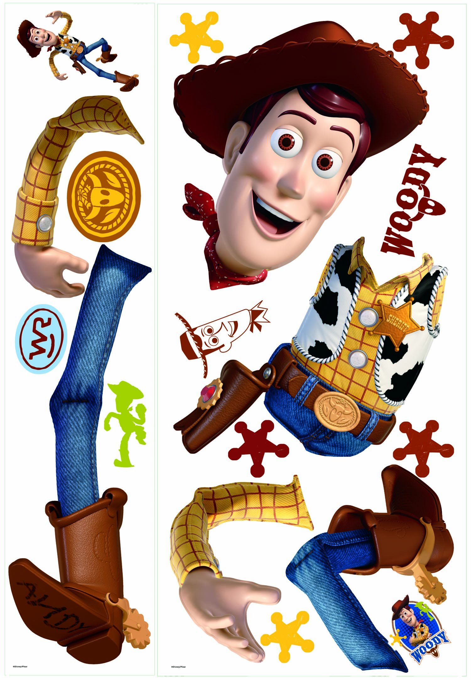 RoomMates Toy Story Woody Giant Peel and Stick Wall Decal by RoomMates