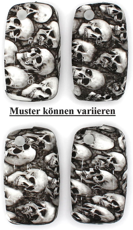 Camouflage Schl/üssel H/ülle VA f/ür 3 Tasten Auto Schl/üssel Silikon Cover von Finest-Folia