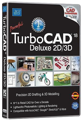 TurboCAD 18 Deluxe (PC DVD ROM): Amazon.co.uk: Software