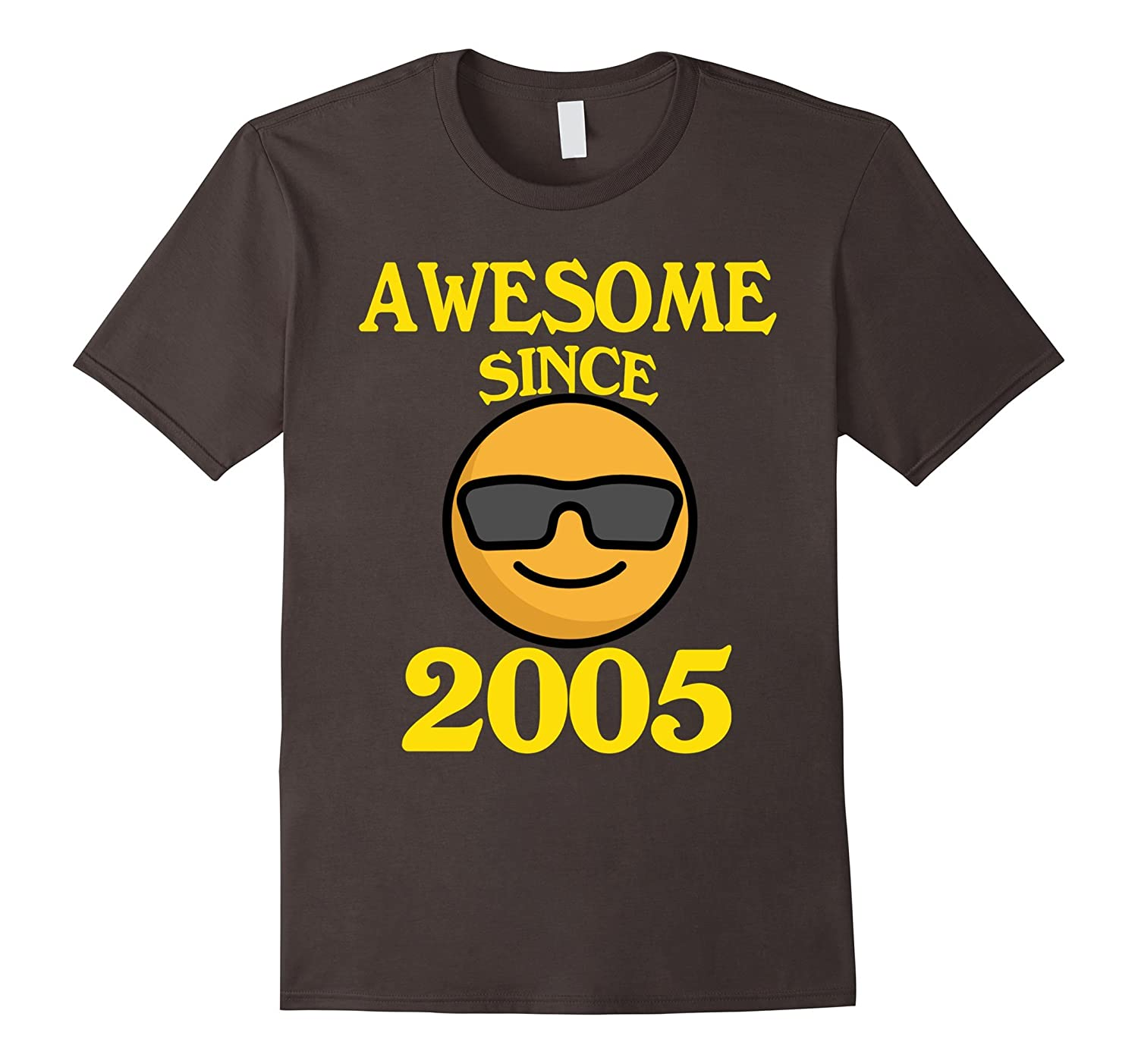 Cool Face Awesome Since 2005 Shirt 12 Years Old 12th Shirt-FL