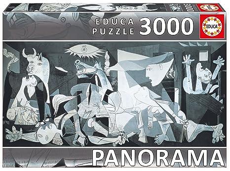 amazon com guernica pablo picasso panoramic puzzle 3000 pieces