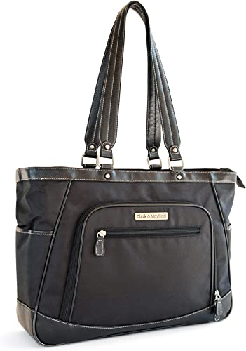 Sellwood Metro XL Laptop Tote 17.3 Black