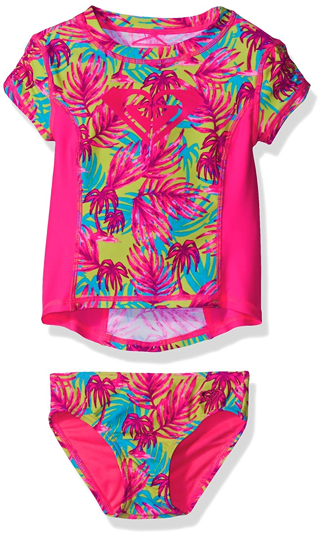 Roxy Girl Paradise Beach Rashguard Set Roxy Children' s Apparel RM6892