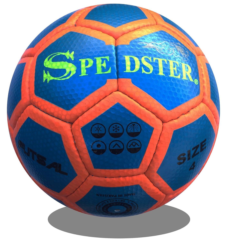 Futsalスポーツアメリカ、低Bounce、一致フットサルボールHigh Visibility Spedster B07B8FX8DYブルー