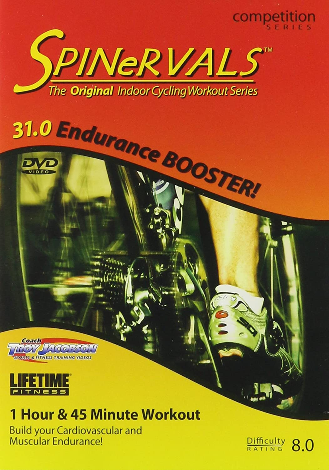 Spinervals 31.0 Endurance Booster DVD