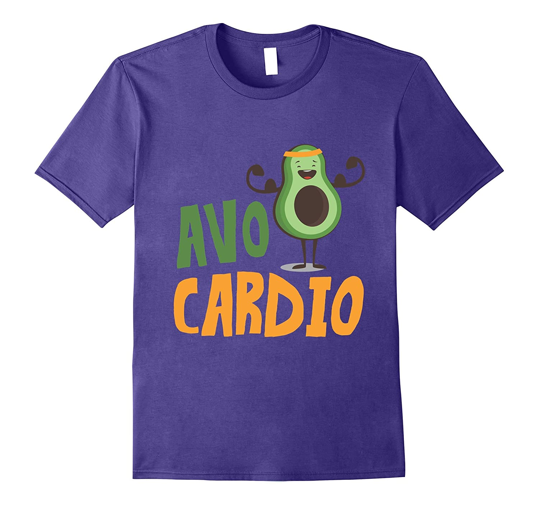 Avo Cardio Avocado Funny Fitness T-Shirt-PL