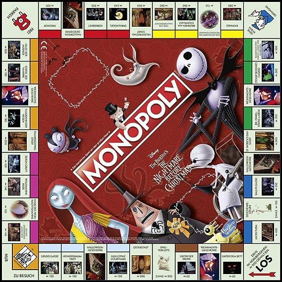 Winning Moves win44710 – Juego de Cartas Monopoly: Nightmare Before Christmas