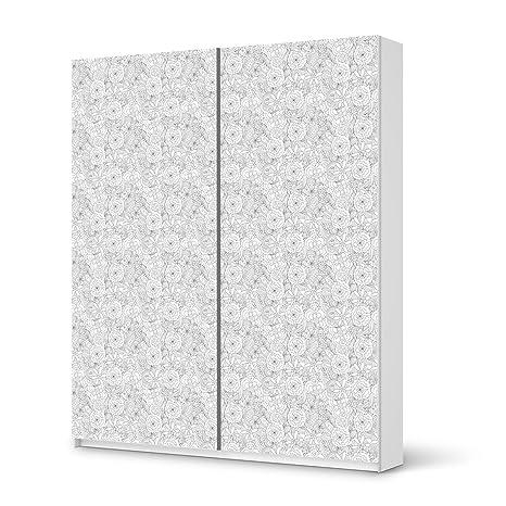 Ikea Armoire Pax De 236 Cm Design Autocollant Pour Porte