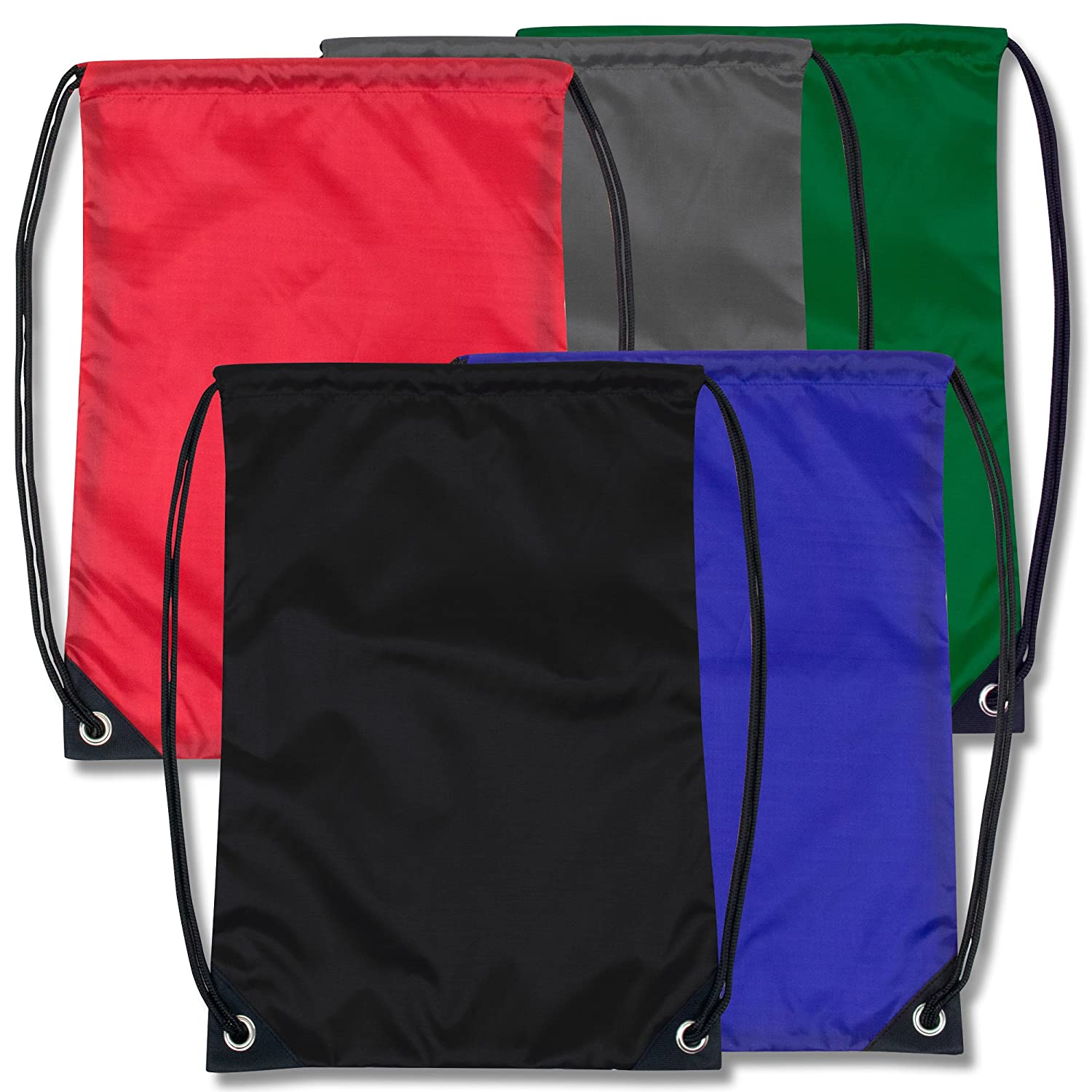 Drawstring Cinch Sack Bag Backpack Bulk Wholesale Case Pack Of 48