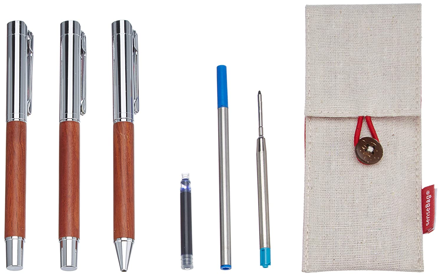 transotype 20072538 Writing Kit Rosewood HOLTZ OFFICE SUPPORT GmbH ...
