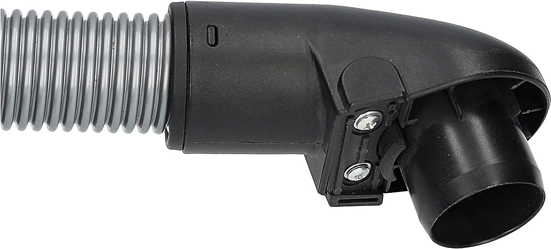 ✧WESSPER/® Tuyau pour aspirateur Miele S324 /ø35mm, 220cm, gris