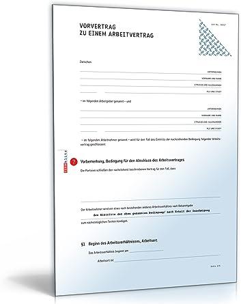 Arbeitsvertrage Muster Vorlagen Kostenlos 9 11