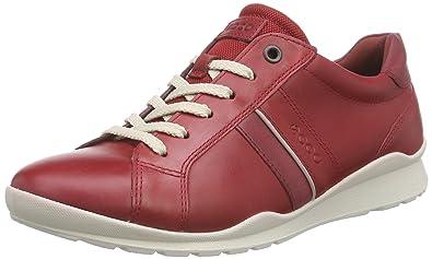EccoCS14 Ladies - Zapatillas Mujer, Rojo, 37