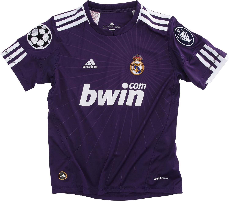 adidas Real 3 JSY Y Real Madrid – Camiseta de fútbol para niño (3ª equipación morado, morado: Amazon.es: Deportes y aire libre