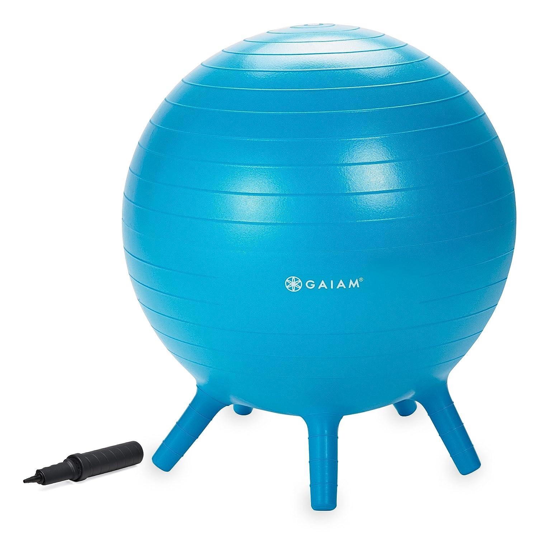 Amazon.com: Gaiam Kids Stay-N-Play Children\'s Balance Ball ...