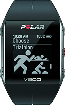 Polar V800 - Pulsómetro de Entrenamiento, Color Negro: Amazon.es ...