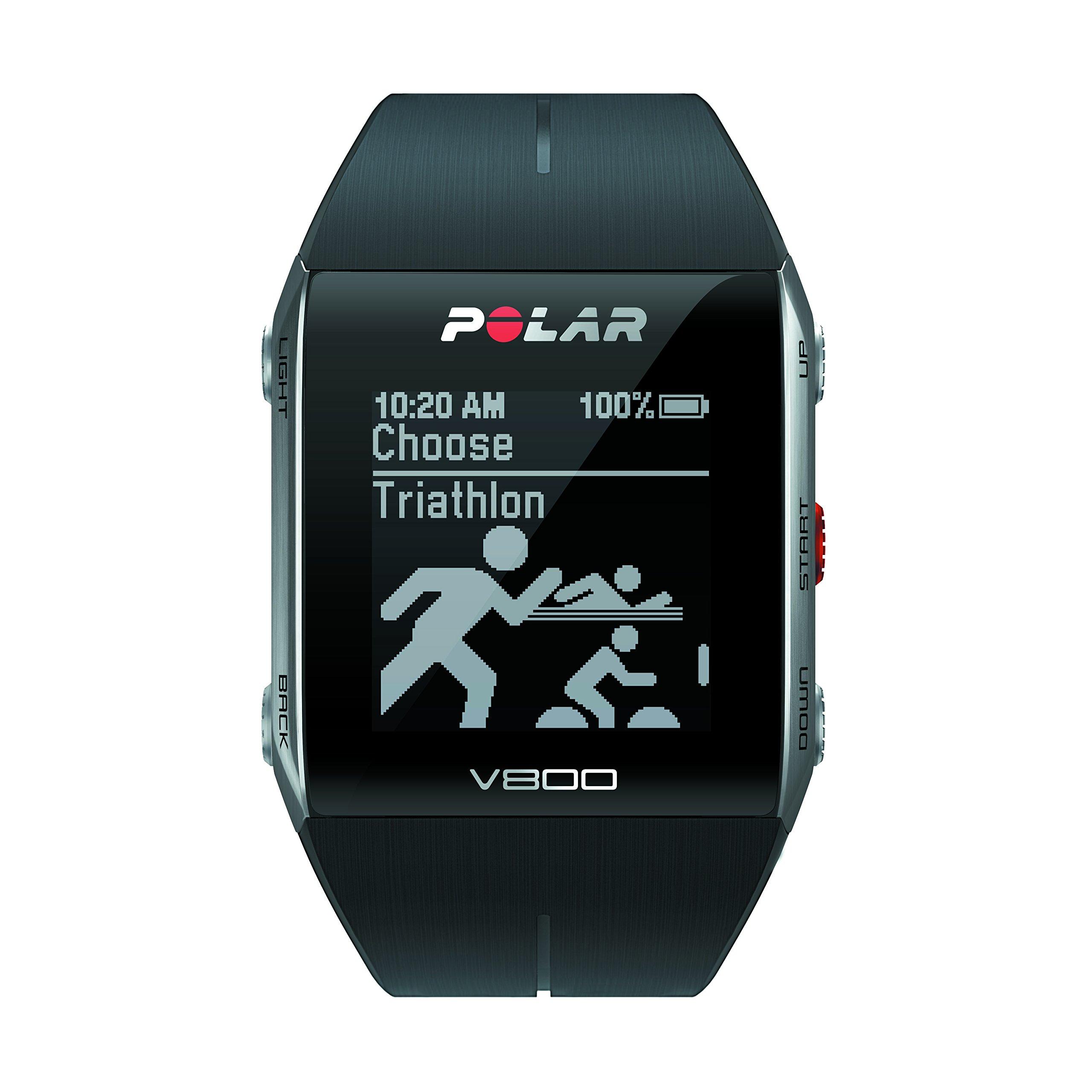 Polar V800 Cardiofrequenzimetro senza Sensore di Frequenza Cardiaca, Nero product image