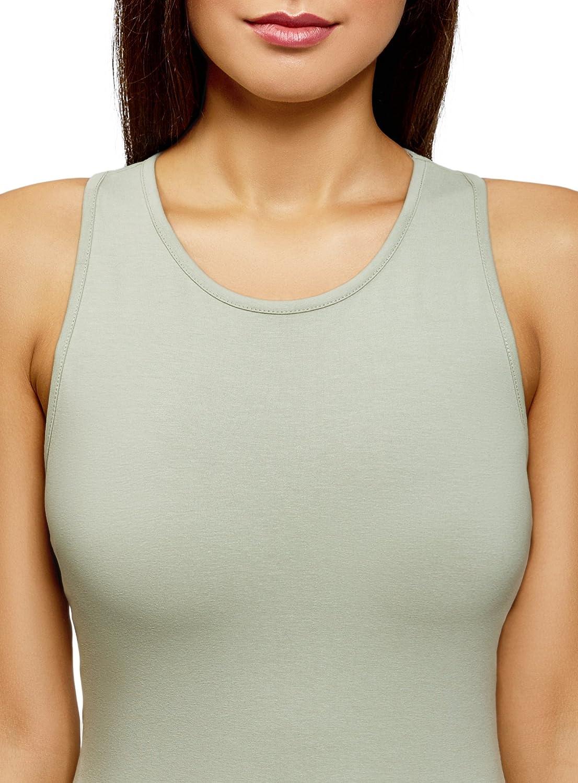 oodji Ultra Womens Cotton Bodycon Dress