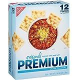 Nabisco Original Premium Saltine Crackers Topped with Sea Salt, 3 Pound (2 pack)
