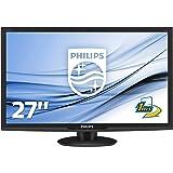 Philips 273E3LHSB E-line 27 inch LED Monitor with SmartResponse