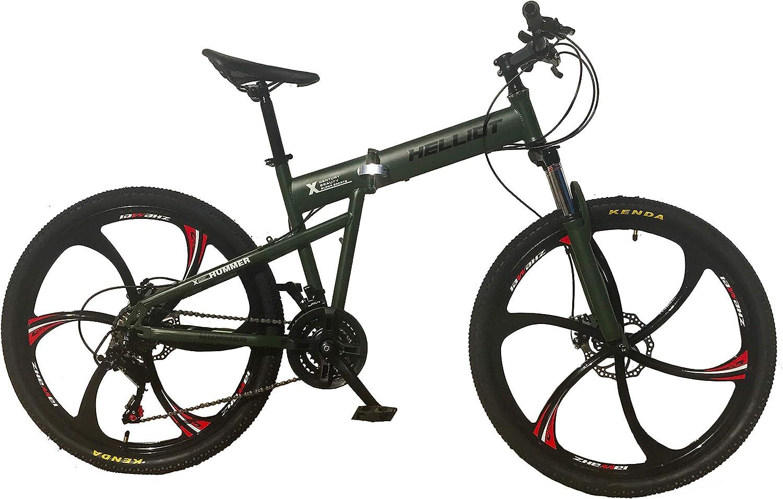 Helliot Bikes Hummer 02 Bicicleta de montaña Plegable, Adultos ...