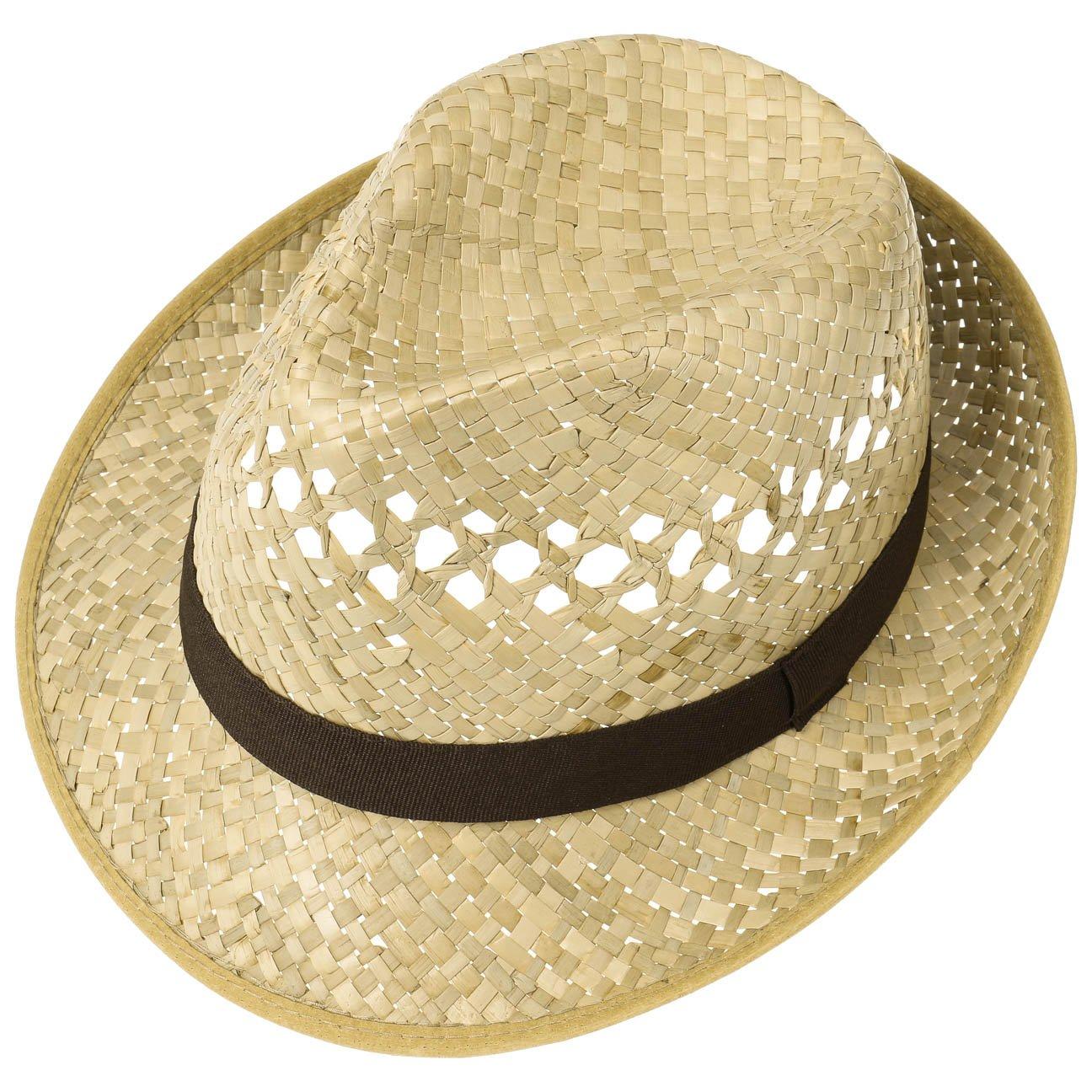b72802066c4 Classic Straw Hat (Trilby) Men and Women