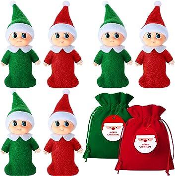 Christmas Elf for your Shelf on the Shelf Velvet Sleeping Bag /& Pillow Shelf Elf