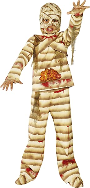 Smiffys - Disfraz de momia para niño de Halloween (36324L ...