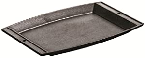 "Lodge Logic 11-5/8"" Cast Iron Chef's Sizzlin Platter"