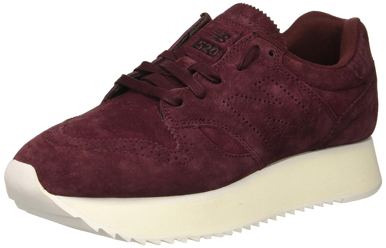 New Balance Women's 520v1 Sneaker B0771R8Y27 11 B(M) US|Nubuck Burgundy