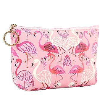 6cf9df3f655b HOYOFO Travel Cosmetic Bag Portable Makeup Pouch Zipper Waterproof  Organizer Bags for Women...