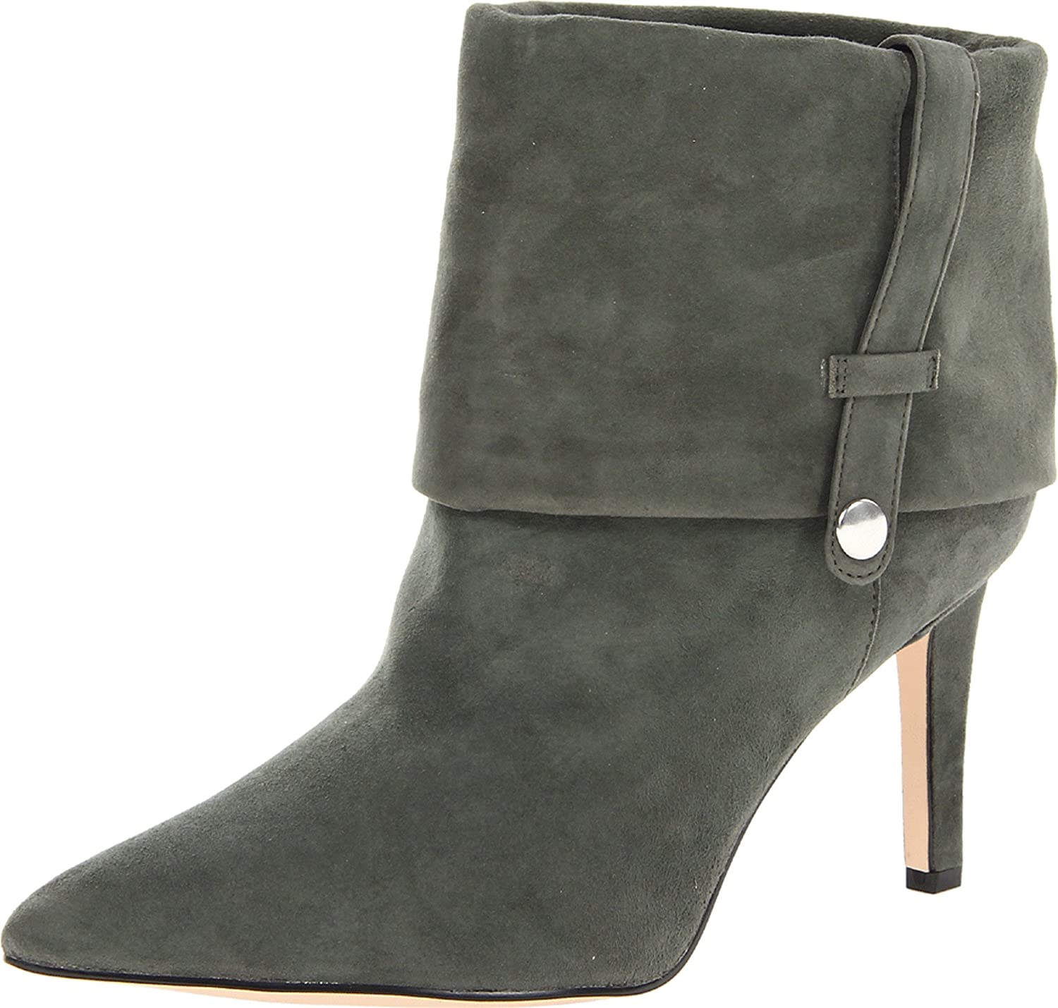 Amazon.com: Calvin Klein Mujer Bethany Kid Suede Bootie: Shoes