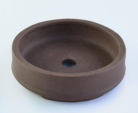 Yixing zisha purple clay ceramic bonsai pot retired signed nev pre own u