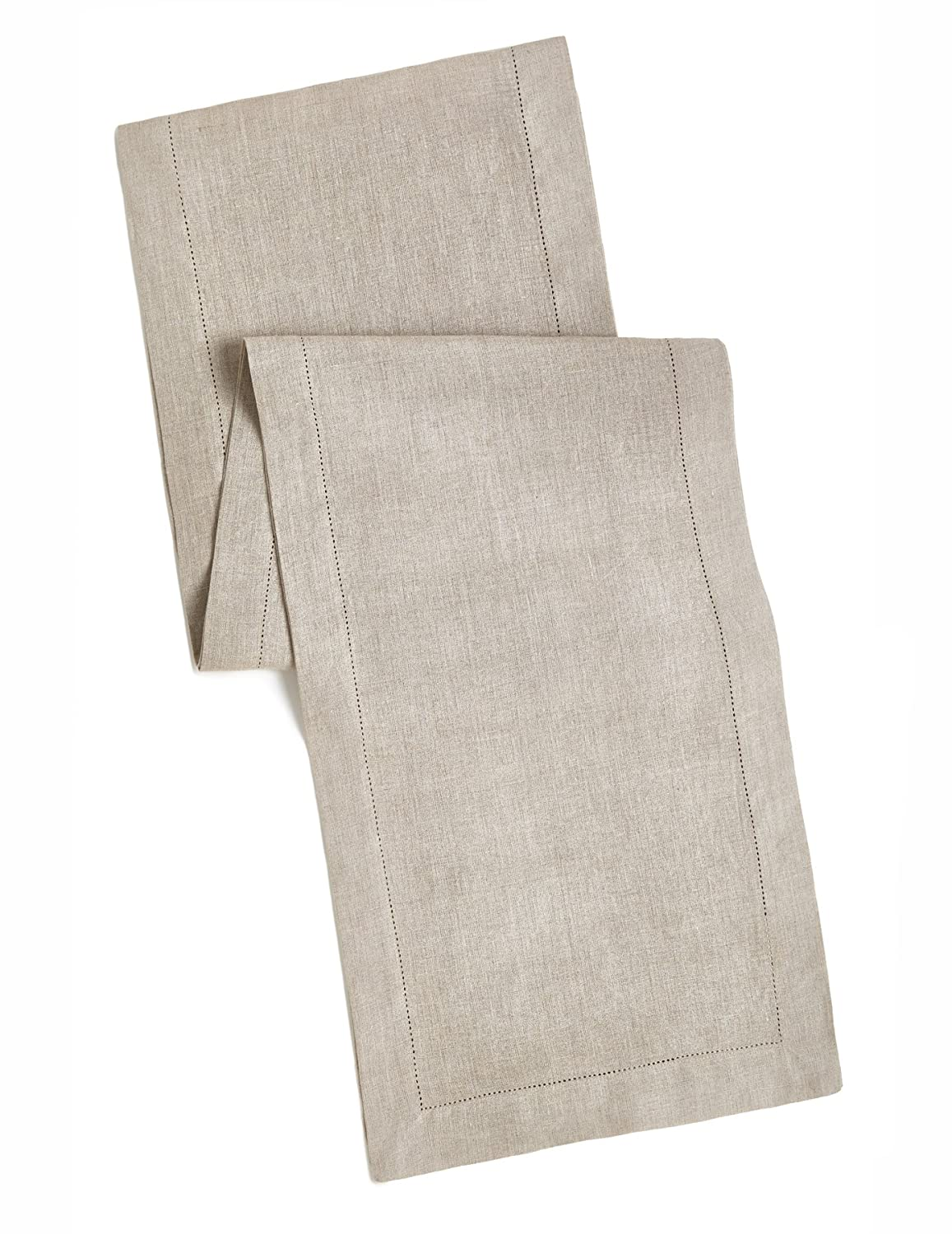 100% Linen Hemstitch Placemats - (Set of 4) Size 14x19 Charcoal - Hand Crafted and Hand Stitched Placemats with Hemstitch detailing. The pure Linen fabric works well in both casual and formal settings Orient Originals Inc. COMINHKPR80146