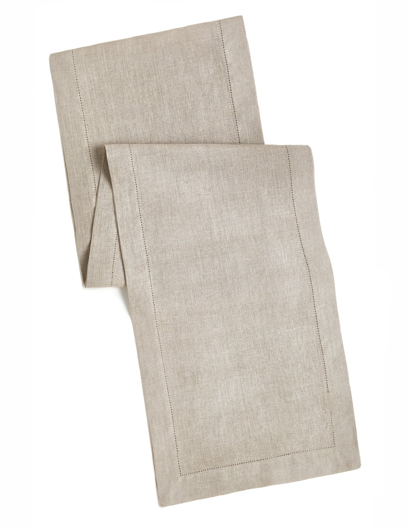 100% Linen Hemstitch Table Runner - Size 16x72 Natural - Hand Crafted and Hand Stitched Table Runner with Hemstitch detailing. The pure Linen fabric works well in both casual and formal settings - 100% Linen Table Runner. Color - Natural. Each table runner measures 16x72 inches. Pure 100% Linen fabric works in both casual and formal settings. - table-runners, kitchen-dining-room-table-linens, kitchen-dining-room - 81yJM%2BLlkxL -