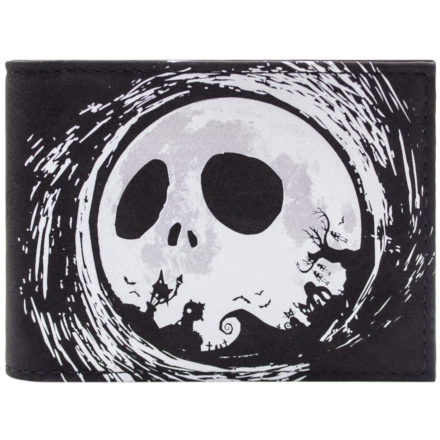 Nightmare Before Christmas Jack Halloween Town Silhouette ID & Card ...