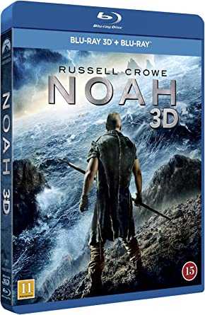 Noah 2014 2 Disc Limited Edition Includes 3d Blu Ray 2d Blu Ray Amazon Co Uk Russell Crowe Jennifer Connelly Anthony Hopkins Darren Aronofsky Dvd Blu Ray